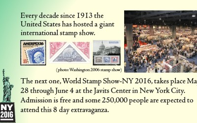 WORLD STAMP SHOW – NEW YORK 2016