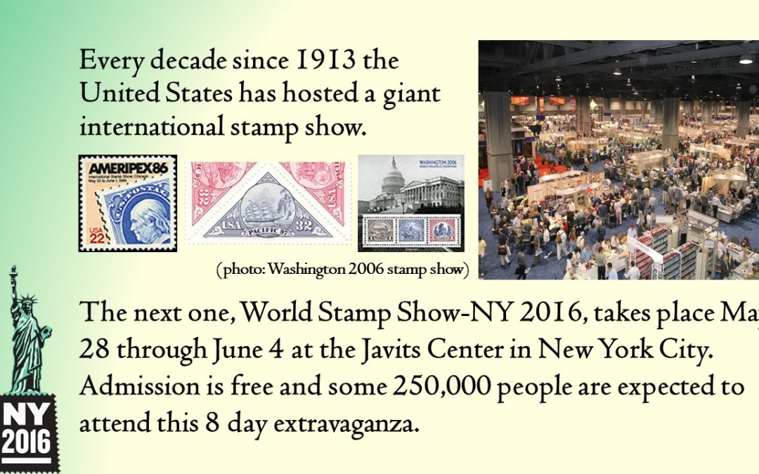 WORLD STAMP SHOW – NEW YORK 2016
